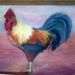 Penny Paints Roosters And Chickens