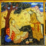 Persian Miniature Paintings Illustrating Iranian Epics And Classic