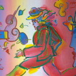 Peter Max Untitled Painting