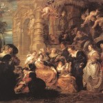 Peter Paul Rubens Garden Love Painting