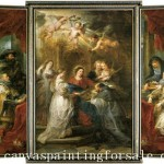 Peter Paul Rubens Ildefonso Altar Painting Off