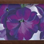 Petunias Keeffe Oil Painting Reproduction For Sale