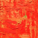 Philip Guston Painting Detail Oil Canvas