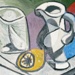 Picasso Artwork Glass And Pitcher Verre Pichet From Which