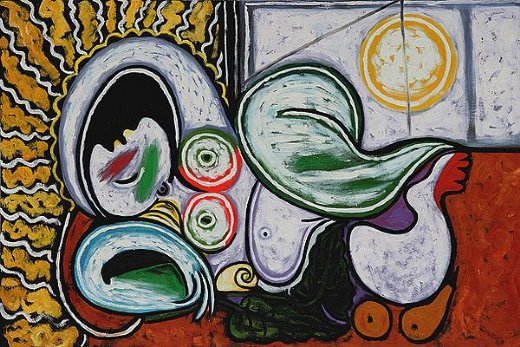 Picasso Couche Iii Painting Pablo Paintings