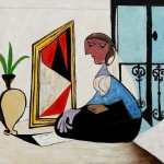 Picasso Femme Miroir Paintings For Sale Oil