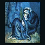 Picasso Mother And Blue Period Was Between