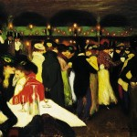 Picasso Paintings Pablo Moulin Galette Painting