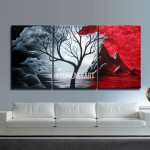 Piece Wall Art Large Cheap Modern Abstract Oil Painting Canvas