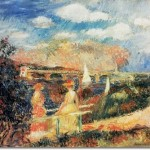 Pierre Auguste Renoir French Impressionist Painting The Banks