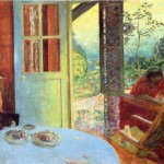 Pierre Bonnard The Dining Room Country