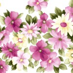 Pink Flowers Painting Pictures All Send Comments