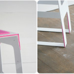Pink Minimalist Bar Stool For Those Who Love Modern Interiors