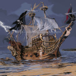 Pirate Boat Graflo Deviantart