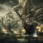 Pirate Ship Drawing Paintings