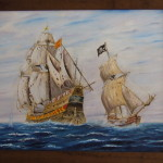 Pirate Ship Paintings Pictures
