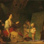 Please Jean Honore Fragonard Oil Painting Reproduction