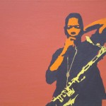 Pop Art Coltrane Rust Painting Best Paintings For Sale