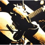Pop Art Paintings Guitar Painting