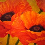 Poppies Gold