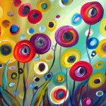 Poppies Whimsical Art Luiza Vizoli From Original Paintings