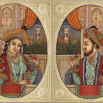 Portarit Art Mughal Paintings Persian Miniatures Rajasthani