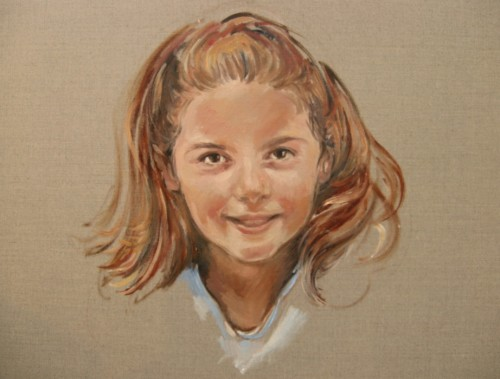 Portrait Paintings Artist Pamela Lloyd Jones London