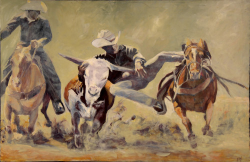 Posted Acrylic Painting Figures Western Art Leave Comment