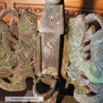Primitive Art Winged Oil Lamp Indonesian Other
