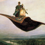 Printable Magic Carpet Ride Public Domain Art Ephemera