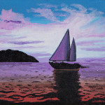 Printable Watercolor Painting Sailboat Freeprintablecom Pictures