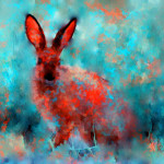 Rabbit Painting Rosalina Atanasova Wild Fine Art Prints