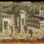 Raphael Museum Wall Painting Houses Noon From Pompeii Unknow
