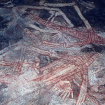 Rare Australian Aboriginal Cave And Rock Wall Paintings From Eastern