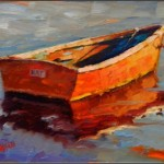 Rat Boat Paintings Old Boats Small Wooden