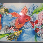Rebecca Milne Albums Album Fish Paintings