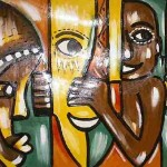 Rebirth Art African Paintings