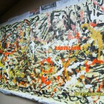 Recently Studied Jackson Pollock Style Painting Show You How