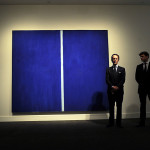 Record Auctions Barnett Newman Onement Which Sold For