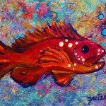 Red Fish Painting Paintings Gretzky Fine Art Prints