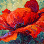 Red Poppy Iii Painting Marion Rose Fine Art Prints