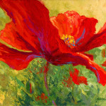 Red Poppy Painting Marion Rose Fine Art Prints And