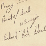 Red Skelton Autograph Note Signed Document