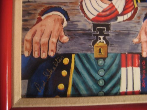 Red Skelton Independence Day Limited Edition Signed From