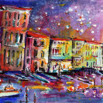 Reflections Celebrating Italy Painting Ginette Fine Art