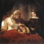 Rembrandt Jacob Blessing The Ren Joseph Art For Sale