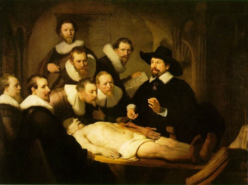 Rembrandt The Anatomy Lesson Was Who Knew