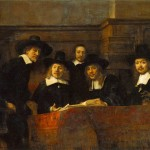 Rembrandt The Syndics Drapers Guild