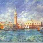 Renoir French Impressionist Painting Doges Palace Venice