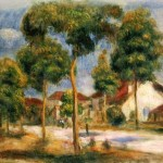 Renoir Painting Oil Paintings